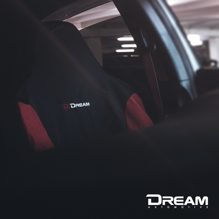 Dream Automotive Tailored Heavy Duty Seat Cover | Honda Civic Type R | FK8 2.0T K20C1 | 2017+