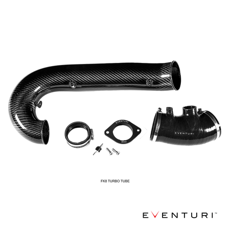 Eventuri Carbon Fibre Turbo Tube | Honda Civic Type R | FK8 2.0T K20C1 | 2017+