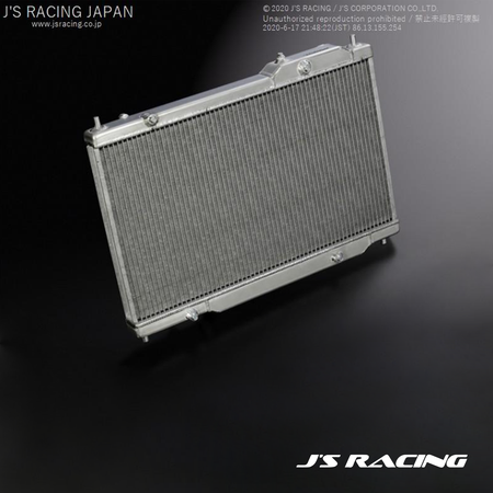 J's Racing Max Cooling Radiator | Honda Civic Type R | FK8 2.0T K20C1 | 2017+