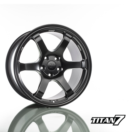Titan 7 T-D6 Forged 6 Spoke Wheel Set | Honda Civic Type R | FK8 2.0T K20C1 | 2017+