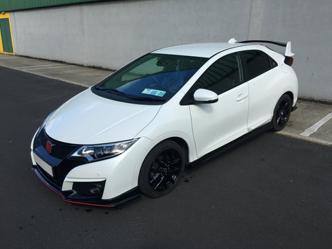 Iconic Autodesign FK2 Type R Replica Body Kit | Honda Civic Hatchback 9th Gen | 2011-2017