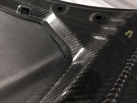 Dream Automotive TCR Style Carbon Fibre Bonnet | Honda Civic Type R | FK2 2.0T K20C1 | 2015-2016