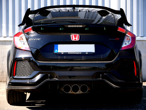 Martelius Cat-Back Exhaust System | Honda Civic Type R | FK8 2.0T K20C1 | 2017+
