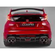 Cobra Sport Exhaust System | Honda Civic Type R | FK2 2.0T K20C1 | 2015-2016 | Right-Hand Drive Only