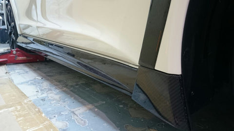 Dream Automotive Carbon Fibre Side Skirts | Honda Civic Type R | FK2 2.0T K20C1 | 2015-2016