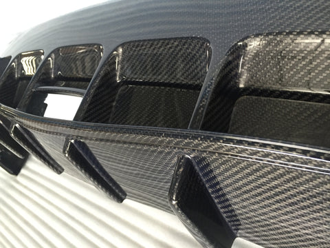 Dream Automotive Carbon Fibre Rear Splitter | Honda Civic Type R | FK2 2.0T K20C1 | 2015-2016