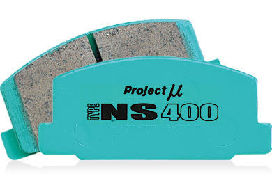 Project Mu Type NS400 Front Brake Pads | Honda Civic Type R | FK2/FK8 2.0T K20C1 | 2015+
