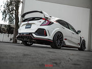 Seibon OEM-Style Carbon Fibre Rear Lip | Honda Civic Type R | FK8 2.0T K20C1 | 2017+