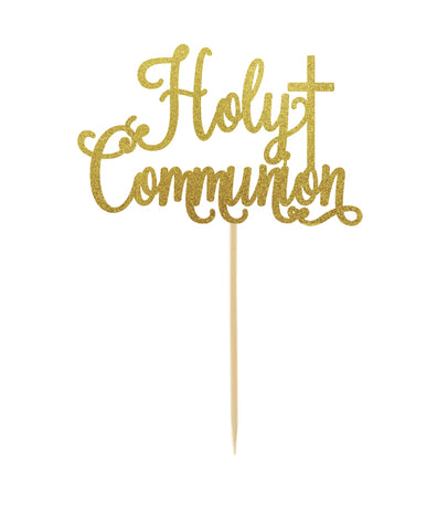 First Holy Communion Topper Script Style