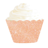 Glitter Cupcake Wrapper - Pack of 12