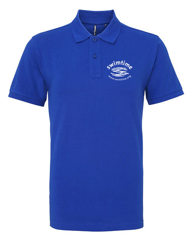 Men's Swimtime Exhibition Polo Shirt