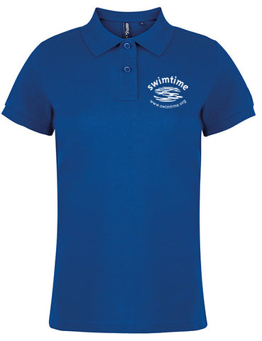 Women's Swimtime Exhibition Polo Shirt