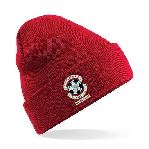 NGFC Red beanie hat