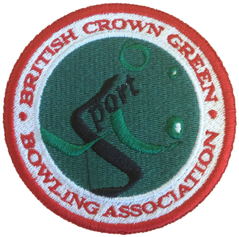 BCGBA Embroidered Patch