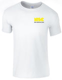 NSC Mens Essential Course Tshirt. Available in Grey/White/Black