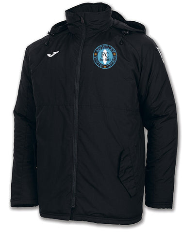 Broseley Joma Black Manager's Bench Jacket