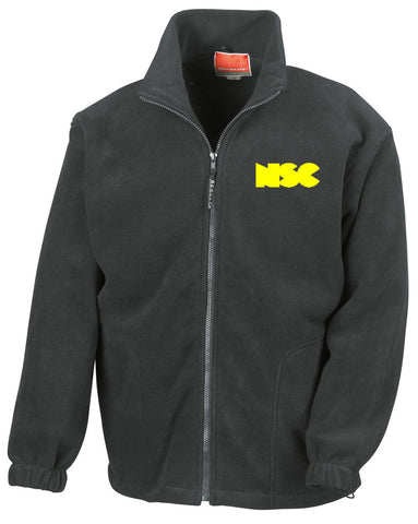 NSC Essential Black College Fleece