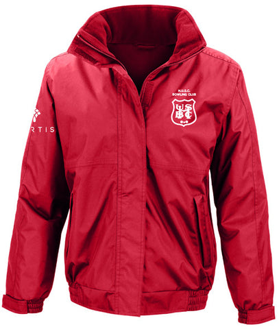 Hadley BC Red Fleece Lined Waterproof Jacket