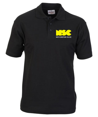 Construction NSC Black Polo Shirt