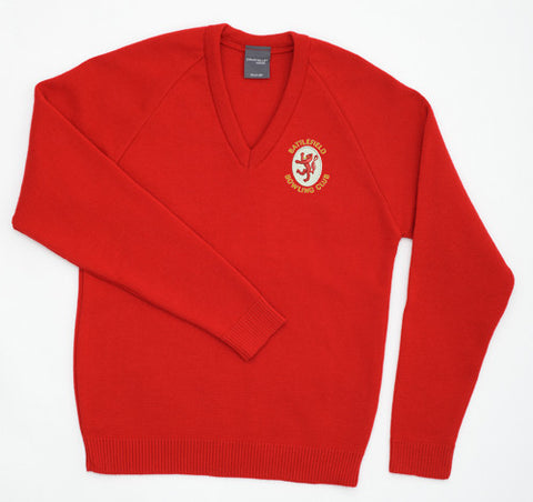 Battlefield BC Red Pullover Sweater