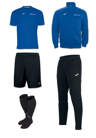 OHA GCSE/BTEC Joma Black + Royal PE full kit Package