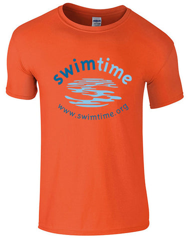 Children's Swimtime Orange Tee
