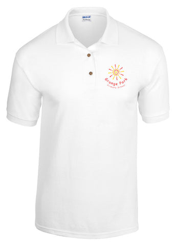 Grange Park Polo Shirt White