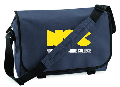 NSC Campus Messenger Bag. Available in Grey/Yellow/Black