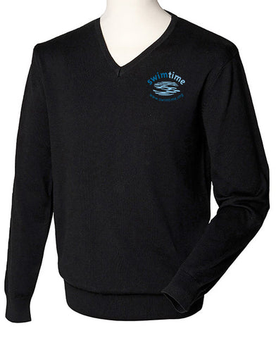 Men's Swimtime Offie V Neck Sweater