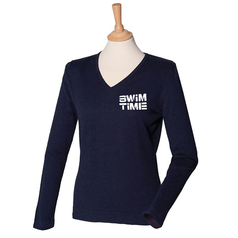 Swimtime V-Neck Sweater