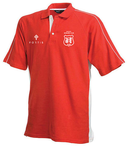Hadley BC Red Cotton Players Polo Shirt