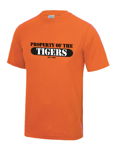 'Property of The Tigers' performance tee