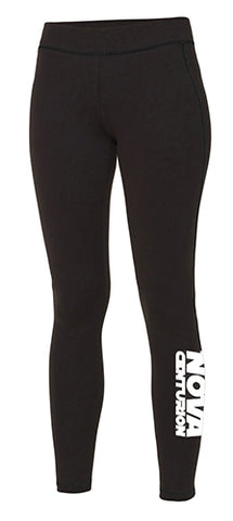Nova Centurion Ladies Black Club Leggings