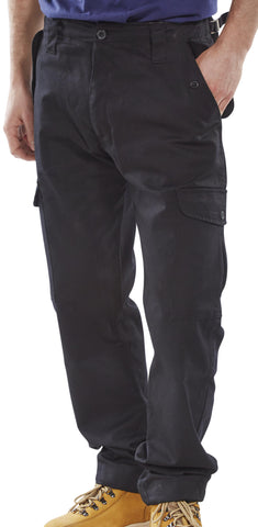 Construction NSC Black Work Trousers