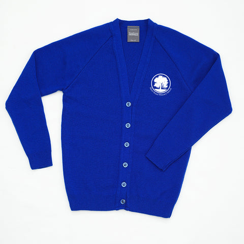 Short wood Royal cardigan