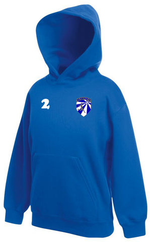 1.NC United Royal Player's Hoody
