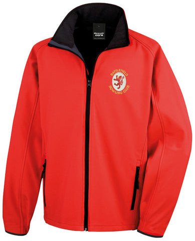 Men's Battlefield BC Red Softshell Jacket