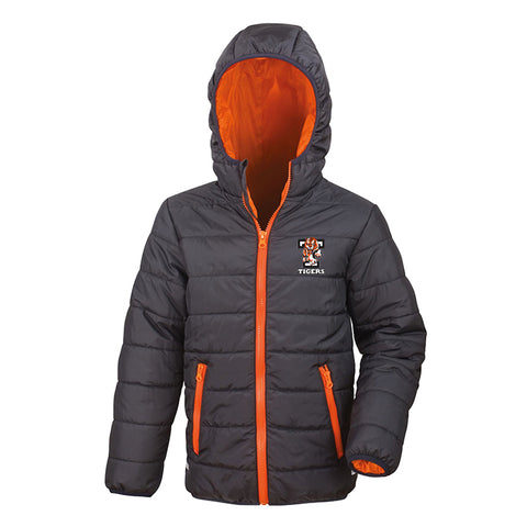 Tigers Black/orange padded jacket