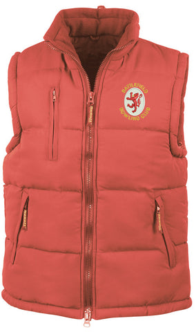 Battlefield BC Red Ultra Padded Bodywarmer
