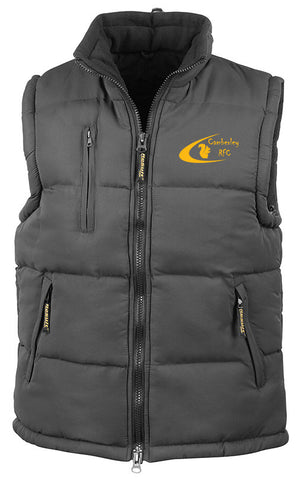 Camberley Rugby Club Padded Gilet