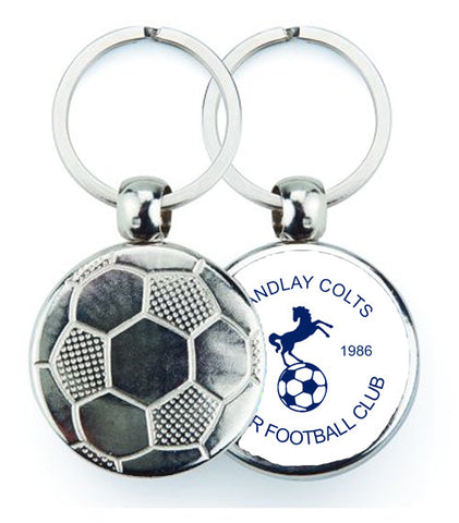 Randlay Colts Football Keyring