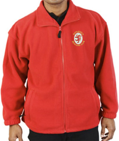 Battlefield BC Red Fleece