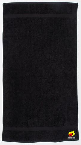 Beeches Black Towel