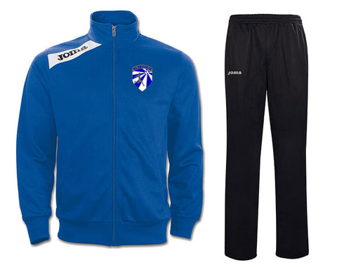1.NC United Royal + Black Joma Victory Tracksuit