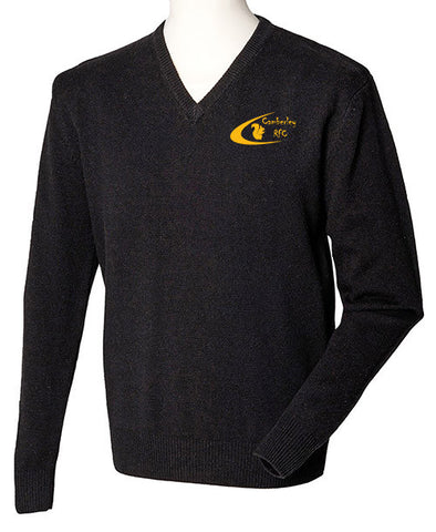 Camberley Rugby Club V Neck Jumper