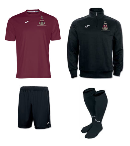WHS Boys Black + Burgundy PE Package - Senior Sizes