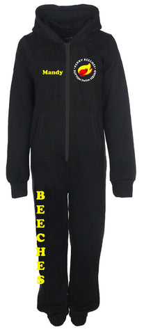 Beeches Junior Black Onesie
