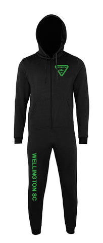 Wellington SC Adult Black Onesie