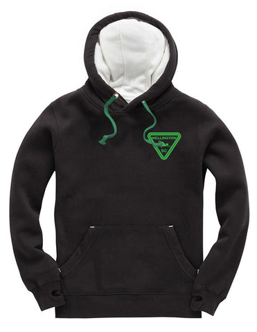 Wellington SC Black pullover super hoodie