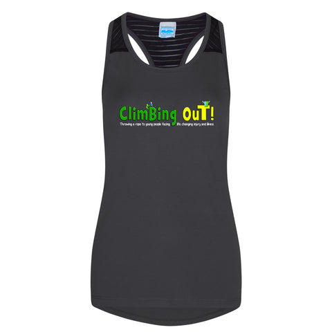 Climbing Out Womens Running Vest
